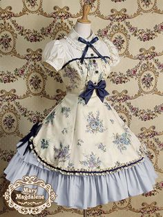 flour de lys op Mary Magdalene | Lolita Fashion Archive and Resources