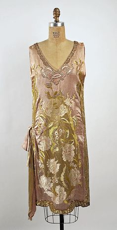 Dress  (attributed) Callot Soeurs  (French, active 1895–1937)  Date: 1926 Culture: French Medium: silk