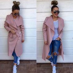 Prechodný zavinovací kabatik veľ.UNI 2990 IHNEĎ K ODBERU #autumnoutfit#collectiontvojstyl#moda#lovemoda#fashion#fashioninsta#dnesnosim#dnesobliekam#fashionblogger