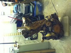 Massive Cherry root lamp! More pics on FB  on Fulbeck Woods. £740.