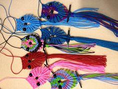 Macrame Owl Necklaces