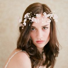 Wedding Ideas: blushing-floral-crown-style-207