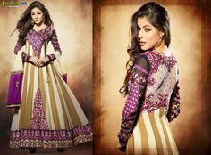 Pink Brown Long #AnarkaliSuit available to Buy online only at Shoppers99 with Extra 10% discount Price. Shop Now:- http://www.shoppers99.com/nargis_fakhri_bollywood_anarkali_suits/nargis_fakhri_pink_brown_long_anarkali_suit_t-565-1631