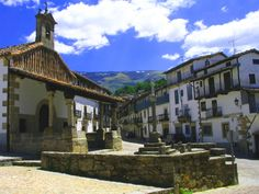 Candelario, precioso pueblecito a 4 Kmts de Béjar