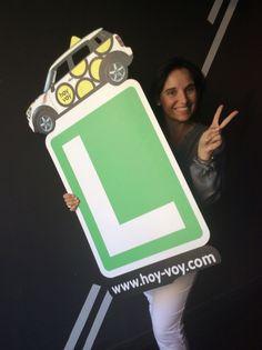 ANA Mª HERRANZ!!! #hoyvoy #autoescuela #barcelona