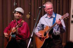 Al Stewart with Dave Nachmanoff - Photo by David Miller