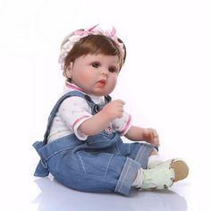 fdffc2aca5 Bebê Reborn Menina Realista Silicone Macio Dobrável Enxoval LAYANE - Doce  Criança Bonecas Reborn