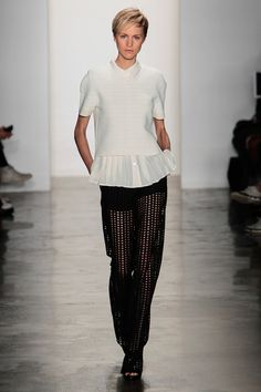 #NYFW - Runway: Timo Weiland Spring 2014 Ready-to-Wear Collection #timoweiland