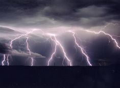 lightning strikes skyline | We'll Always Love Home | Buris On The Couch