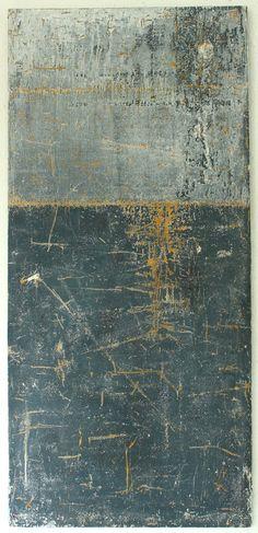 201 3  - 1 07  x 50 x 2,1  cm - Mischtechnik  auf massiver Holzplatte  ● nicht mehr verfügbar Abstrakte,        Kunst, Malerei,  Leinwand, ...