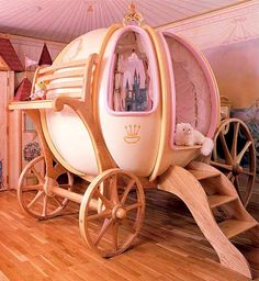 Cinderella - Every little girls dream!  (and maybe mine :)I wonder if josh would go for this in our room???
