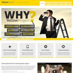 YellowProject WordPress Theme | Best WordPress Themes 2013