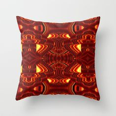 ABSTRACT  Throw Pillow by Sandra Betinassi - $20.00