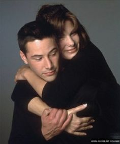 Keanu Reeves & Sandra Bullock as Jack Traven & Annie Porter   Speed (1994)