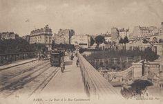 Les anciennes rues de Paris | rue Caulaincourt | 18ème arrondissement