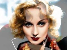Carole Lombard Tribute in Color/This is lovely!