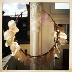 Couronne Léonie   Sidonie Lemaitre   couronne mariée   bridal Headpiece   couronne fleurs