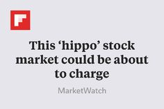 This 'hippo' stock market could be about to charge http://flip.it/U49vz