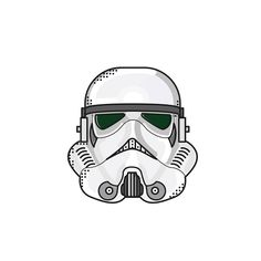 D - 78 : The Stormtrooper. These faceless enforcers of the New Order were considered an extension of the Emperor's will, and thus they often used efficient yet usually unreasonable tactics as a way to keep thousands of star systems throughout the galaxy in line.  #stormtrooper #empire #starwar #starwarstheforceawakens #starwarsiconset #icon #graphicdesign #illustration #maytheforcebewithyou