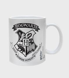 Hogwarts Crest Black Mug | The Harry Potter Shop at Platform 9 3/4