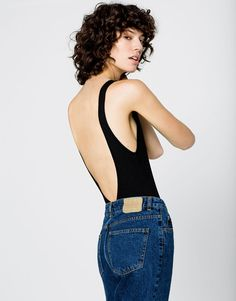 BODYSUIT WITH LOW CUT BACK - NEW PRODUCTS - WOMAN - PULL&BEAR Greece
