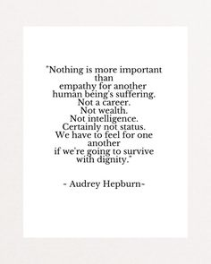 Train Of Thought, Audrey Hepburn, Wise Words, Best Quotes, Love You, Wisdom, Thoughts, Feelings, Sayings