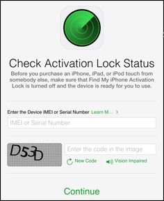 stolen iphone serial number search