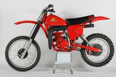 """1978 Honda CR250R Elsinore """"The Red Rooster""""- After a two year hiatus, Honda got serious again about MX."""