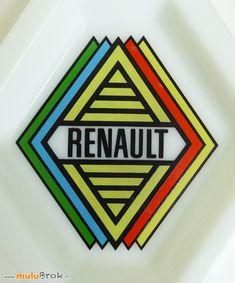 Objet Pub Cendrier RENAULT Losange . www.muluBrok.fr Vintage