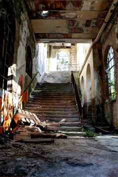 An abandoned cotton mill, Pordenone, Italy *