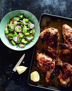 Pete Evans, Paleo Chicken Recipe, Lebanese Chicken with Radish Salad