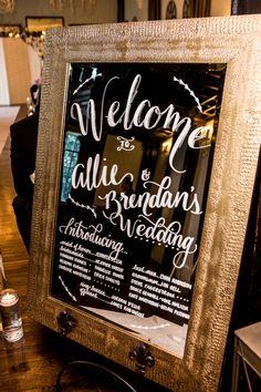 Brian Pescatore Photography   #AldenCastle #LongwoodVenues #Boston #Wedding #BostonWedding #Ceremony #CeremonyDecor #CeremonyProgram #WeddingProgram #Program #Mirror #Calligraphy #WeddingDecor #Details #WeddingDesign #AnteaAmorosoDesigns http://longwoodevents.com http://www.brianpescatorephotography.com
