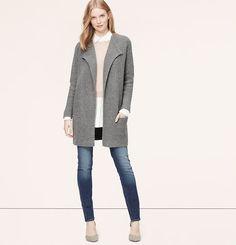 Petite Sweater Coat Vo18fq