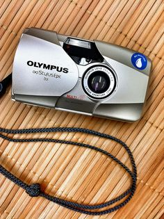 The Olympus Stylus Epic - a very nice pocket-size, 35mm-film point & shoot camera
