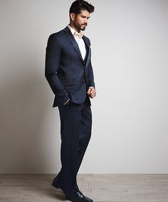 b6ddff27ad7d Luxe Faille | Ink Blue Tuxedo Styles, Ink Blue, Tuxedos, Mariage, Dinner