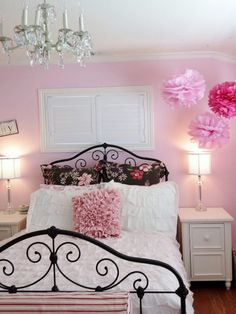 9 Simple and Impressive Tricks Can Change Your Life: Girls Bedroom Remodel Interior Design small bedroom remodel paint colors.Bedroom Remodeling On A Budget Accent Walls. Teenage Girl Bedroom Designs, Teenage Girl Bedrooms, Girls Bedroom, Bedroom Decor, Bedroom Ideas, Master Bedroom, Decor Room, Bedroom Styles, Girl Room