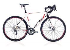 """28"""" Carraro Cr-Cx Giro Erkek Yarış 20-V Md Modelinde Alüminyum 1.1/8""""-1.5"""" Konik Alın Borusu Triple Butted Hydroformed kadro kullanılmıştır."""
