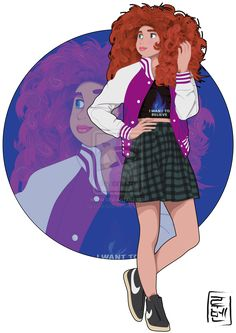 Disney University - Merida by Hyung86.deviantart.com on @deviantART