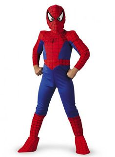 Spiderman Costume - Boys Costumes (this one)