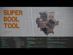 Super Bool Tool + Boolean workflow_BY Leonardo Iezzi