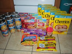 How I Got All of This for 10 Cents (before Extreme Couponing was cool).  http://bargainbecky.blogspot.com/2009/11/my-10-cents-shaws-trip.html