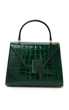 c87b90c7ceec Valextra Alligator Iside Mini Top Handle Leather Handbags