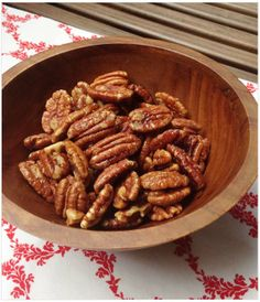 Maple Salted Pecans | Healing and Eating