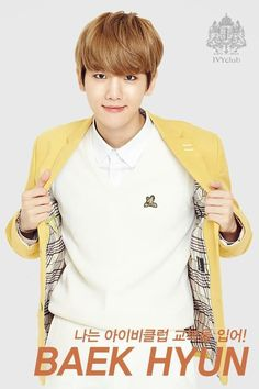 [OFFICIAL] 150922 IVY Club Facebook update - BAEKHYUN -Mei