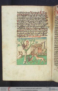 Cod. Pal. germ. 85: Antonius von Pforr: Buch der Beispiele (Schwaben, um 1480/1490), Fol 98v