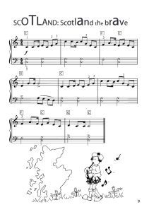 Scotland the Brave Easy Piano Sheet Music PDF by ...