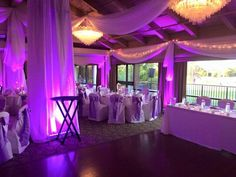 Event Type: Wedding Event Date: 02/20/2016 Event Location: Countryside Country Club Client Name: Amy Collotta - Eric Williams Services Provided: DJ, Light, Draping, Floweres and Center Pieces, Cake Flowers Other Details: