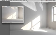 Lighting a Window Scene in Cinema 4D - Tutorial. Setting up lightsources for interior visualization. Click on the CC button to view modeling...