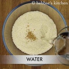dosa recipe   dosa batter in mixie recipe   crispy dosa batter recipe South Indian Dosa Recipe, Dosa Batter Recipe, Bienenstich Recipe, Herring Recipes, Cannelloni Recipes, Coconut Chutney, Indian Sweets, Blueberry Recipes, Oatmeal Recipes