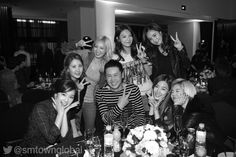 SM Entertainment artists attend SMTOWN Celebrity Party ~ Daily K Pop News